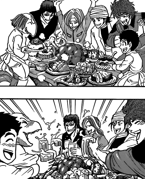 Image - The Group Having A Feast With Chichi.png