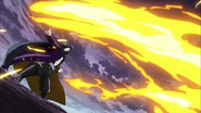 Starjun using his Burner Knife GGB