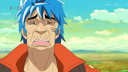 Toriko's face from the smell
