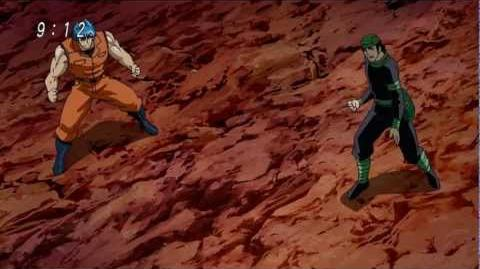 Toriko & Coco vs Devil Serpent