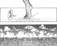 Ichiryuu walking on water