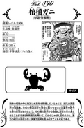 Casket Crab's data