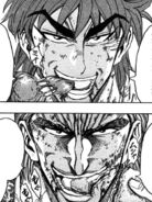 Toriko and Zebra eat after fight