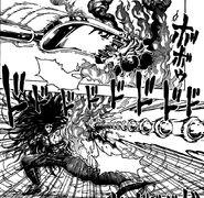 Starjun using Hitate to stop Fork Kugi Punch2