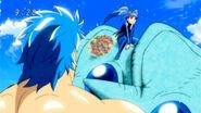 Toriko seeing Safura
