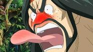 Zonge eating Komatsu's hot spice 2