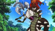 Black Soil Snake, Roboster, Yashimodoki and Broccobat