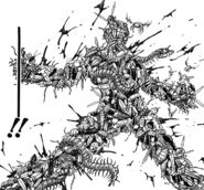 Toriko surrounded by bugs