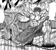 Toriko and Sunny holding up