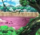 Lago Frijoles Rojos