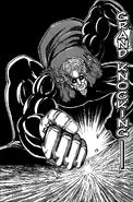 Jjirou using Grand Knocking