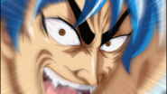 Toriko provoking Grinpatch