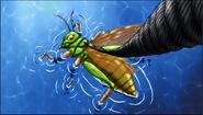 Giant Grasshopper 1st Movie