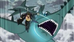 Guemon killing Fly Shark