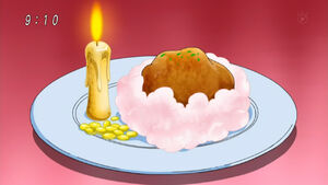 Beewax Candle and Cotton Candy Cloud