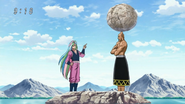 Wabutora's amazing balance