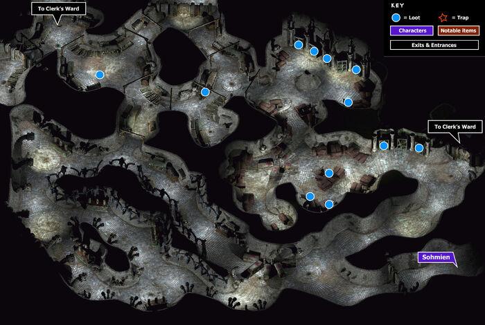 Undersigil map