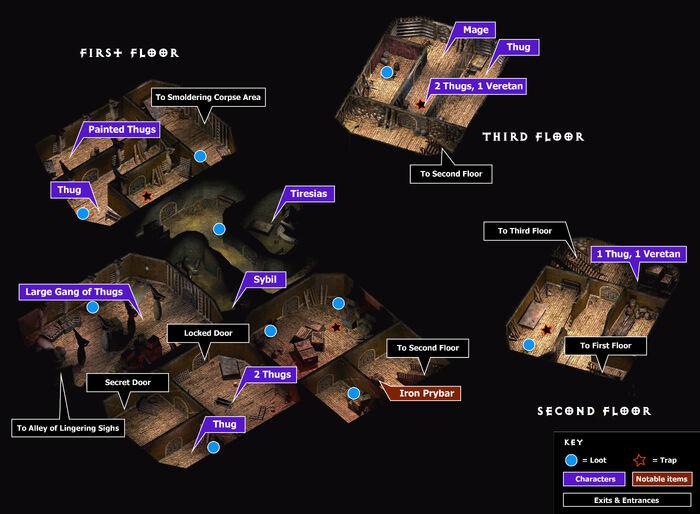 Tenement of thugs map