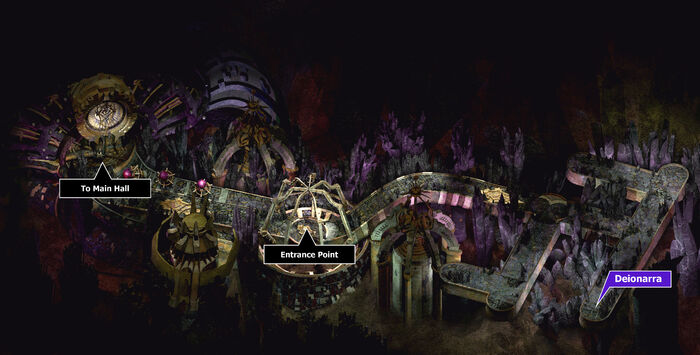 Fortress of regrets entrance map