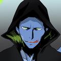 Cazador Azul retrato