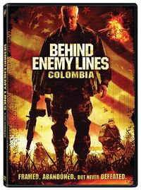 Behind Enemy Lines Colombia poster