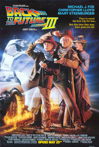 Back to the Future Part III poster