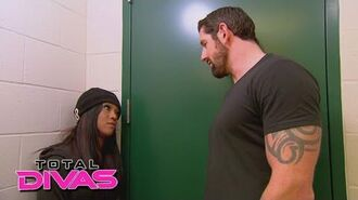 Alicia Fox confronts her ex-boyfriend, Bad News Barrett Total Divas, February 15, 2015