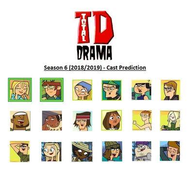 Total drama season 6 2018 2019 cast prediction final