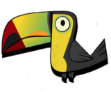 Toucan (Transparent)
