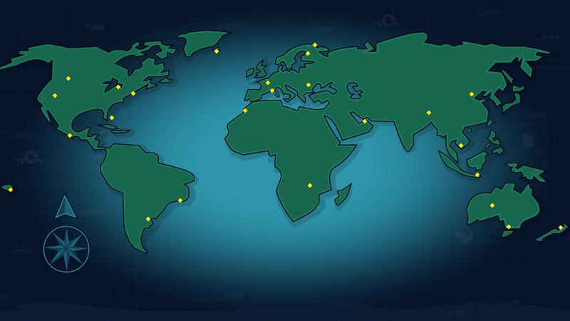 Total Drama Ridonculous Race Map