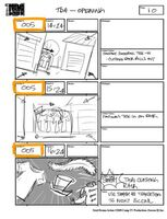 Total Drama Action theme song storyboard (12)