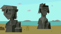 Easter island harold tyler heads