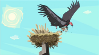 Easter island condor heather