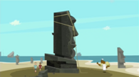 Easter island chef finally puts up last statue