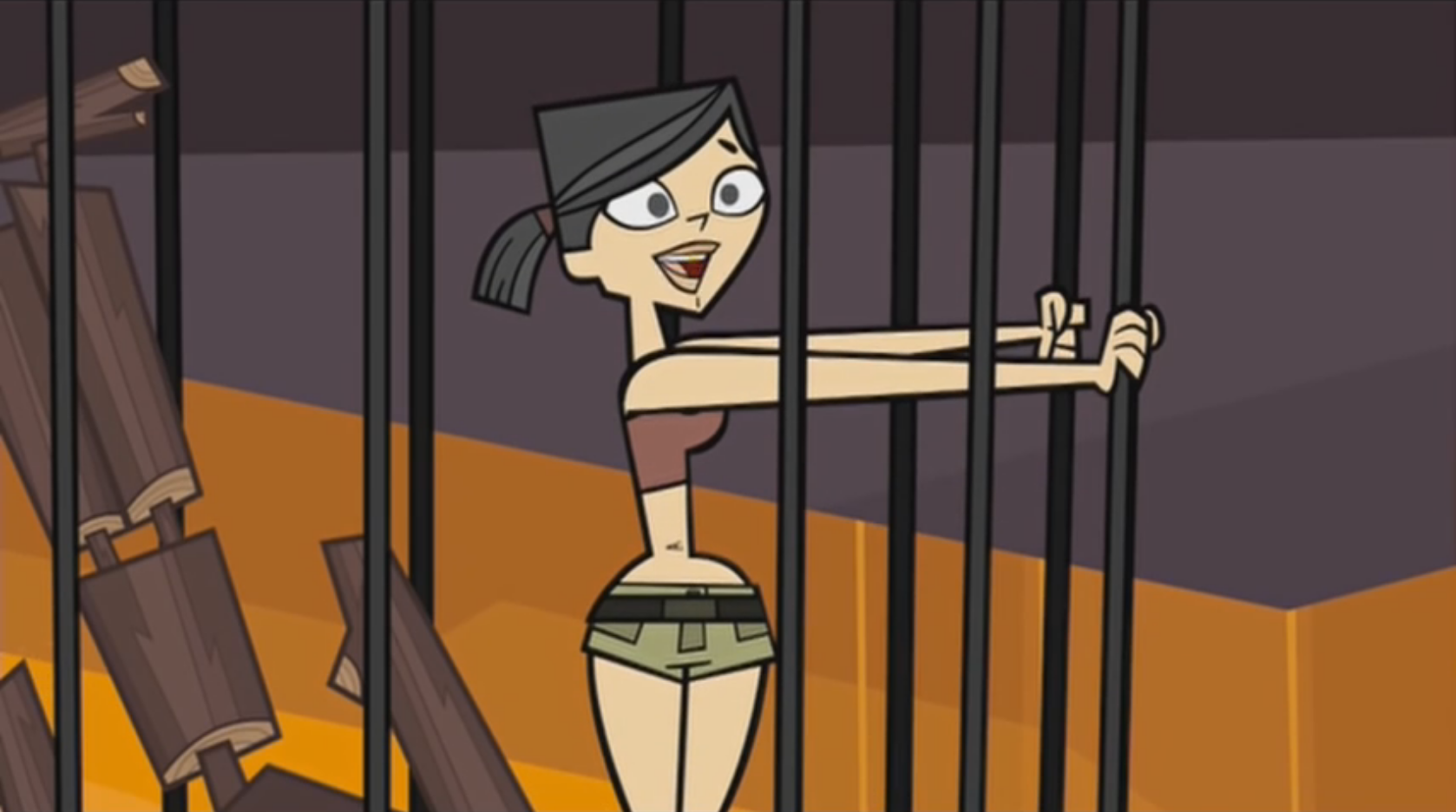 image happy heather png total drama wiki fandom powered