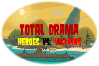 Total Drama Heroes vs. Villains Official Logo