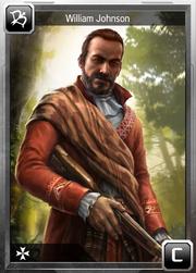 William Johnson card