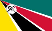 Flag of Mozambique 2