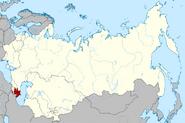 Azerbaijan SSR location