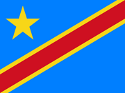 Flag of DR Congo