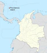Isla Providencia location