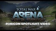Total War ARENA Rubicon Map Spotlight