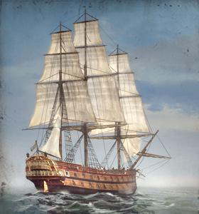 50-gun Ship-of-the-Line NTW