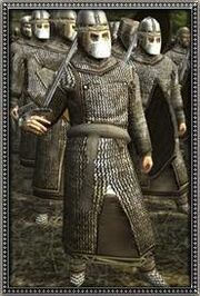 Sicilian Dismounted Norman Knights