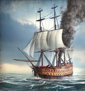 80-gun Steam Ship NTW