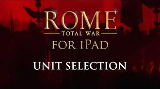 ROME Total War™ for iPad – How to triumph (Unit Selection)