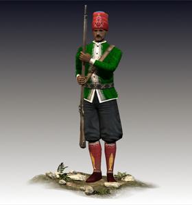 Nizam-I Cedit Infantry