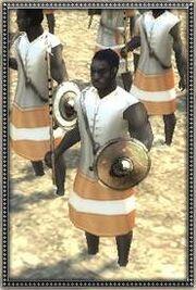 Moorish Sudanese Javelinmen
