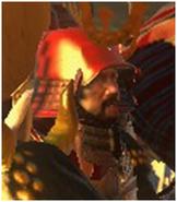 Takeda Shingen headshot
