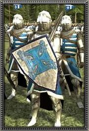 French Dismounted Chivalric Knights